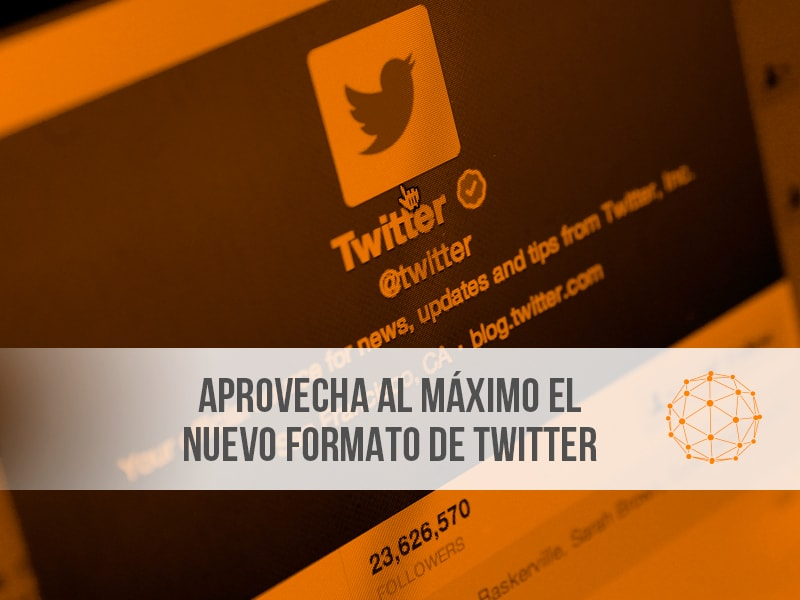Nuevo formato twitter