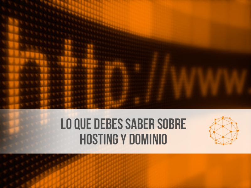 hosting y dominio