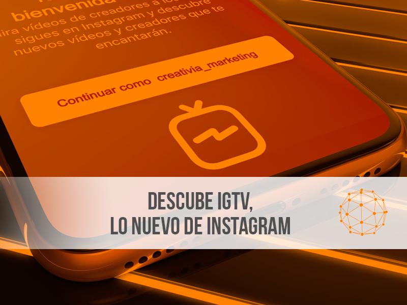 IGTV lo nuevo de instagram