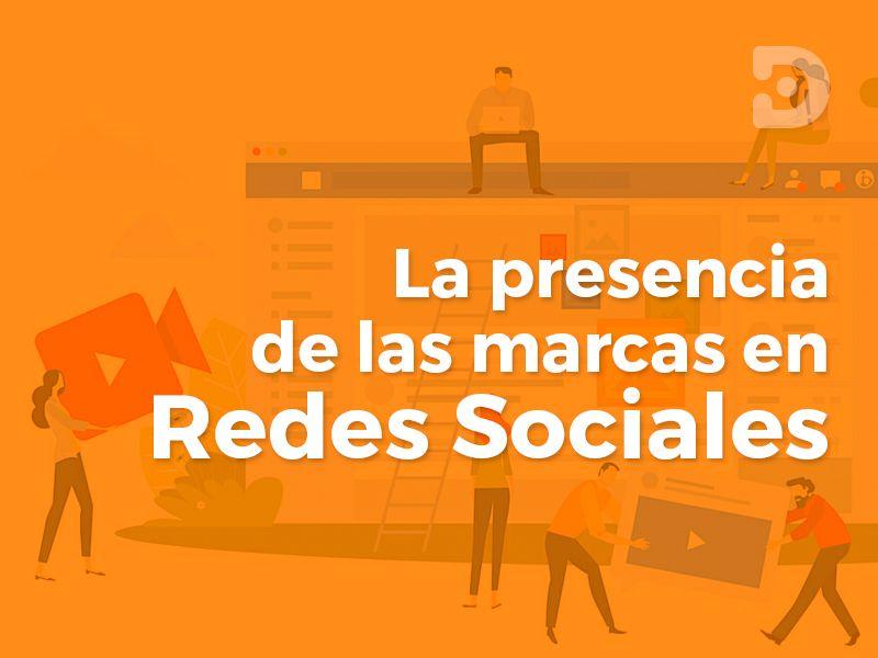 Presencia de marca en redes sociales